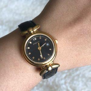 Fossil women's vintage watch